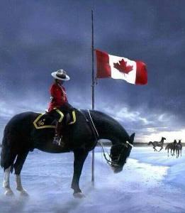 RCMP half mast