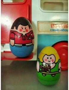 Sometimes I wobble but I don't fall down...like a 'Weeble'