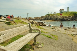 At the Nubble Light House
