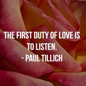 First Duty Pail Tillich