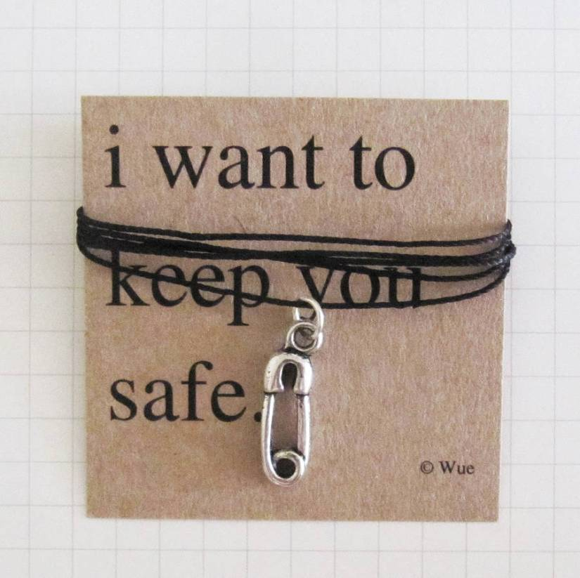 ('Keep You Safe' Token Necklace)