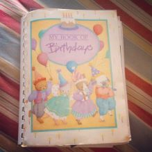 My Book of Birthdays