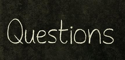 questions chalkboard