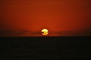 Sunrise at Kill Devil Hills, North Carolina