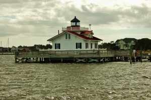 Roanoke Marsh Lighthouse, Manteo, Roanoke Island, NC