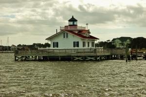 Roanoke Marsh Lighthouse, Manteo, Roanoke Island, NC