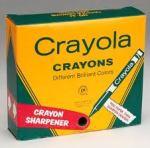 Crayola crayon pack
