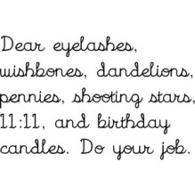 Wishes Do Your Job