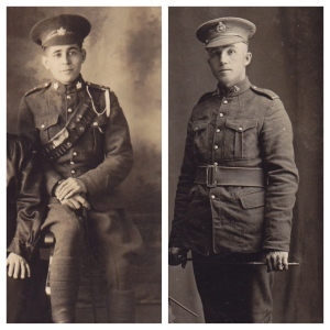 WWI vets, Frank Anderson & John 'Jack' MacEachern, 25 Battalion, Nova Scotia Highlanders