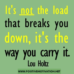 Lou Holtz Not the Load