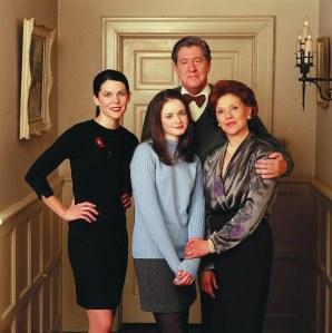 clockwise; Richard, Emily, Rory & Lorelai Gilmore