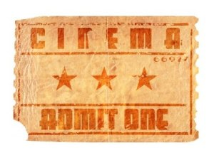 Old Movie Ticket