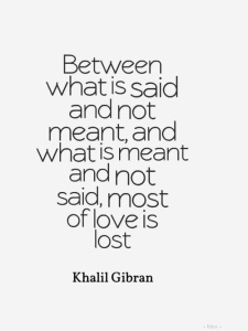 Khalil Gibran Between What is Said and Not