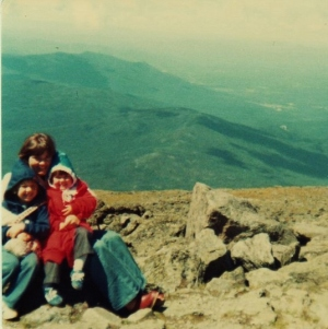 Mt Washington w Mom