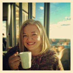 Coffee at Kaknästornet Sweden